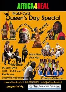 Africa for real koninginnedag 2013