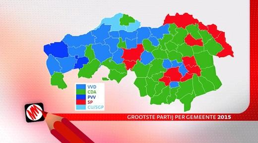 uitslagen Provinciale verkiezingen