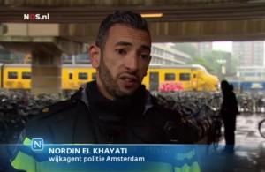 160622 wijkagent Nordin el Khayati politie Amsterdam