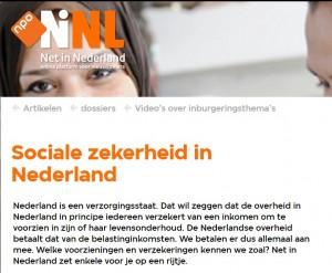 170420 Sociale zekerheid in Nederland
