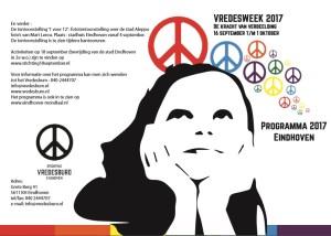 170918 Voorkant flyer Vredesweek
