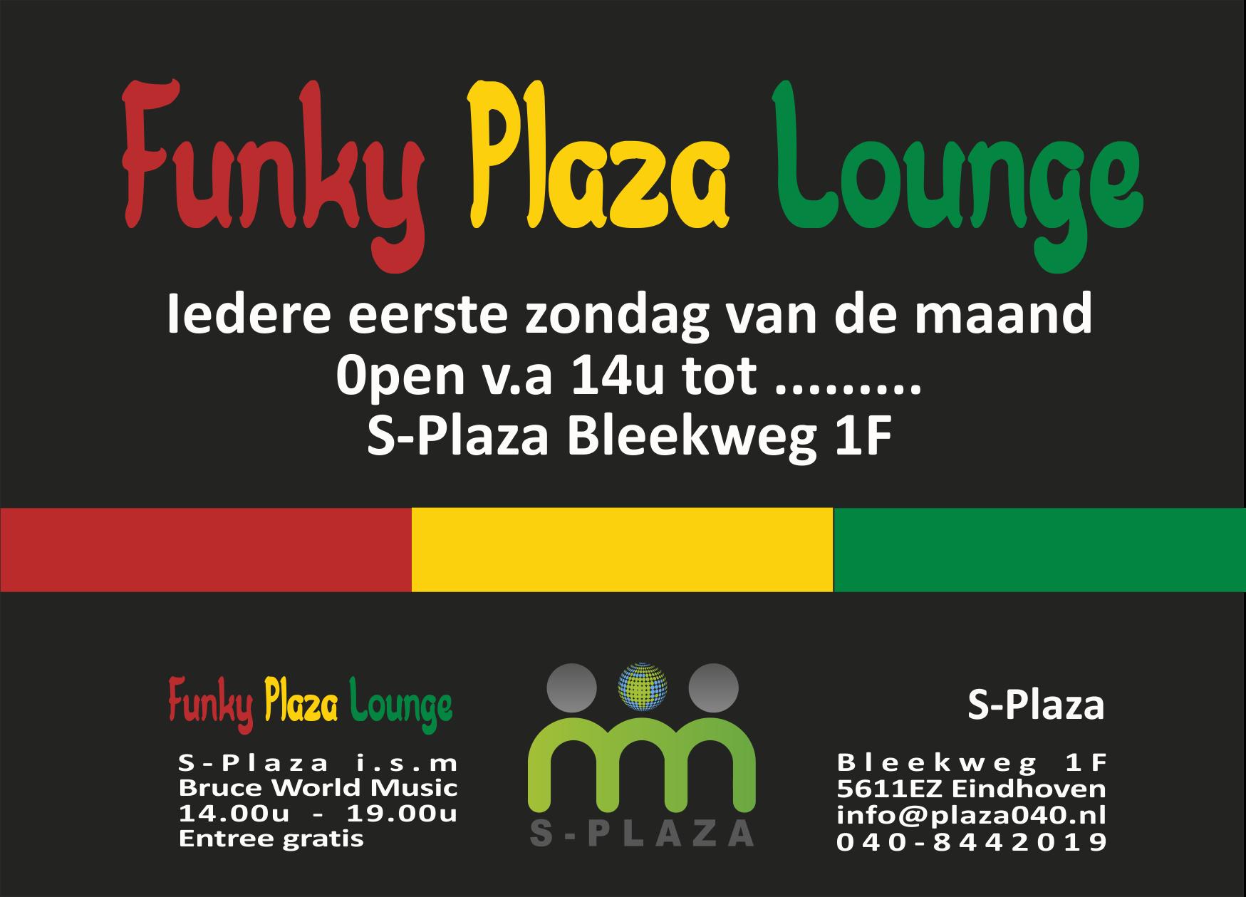 170927 Funky Plaza Lounge algemene poster zondagen