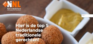180107 Top 5 Nederlandse gerechten
