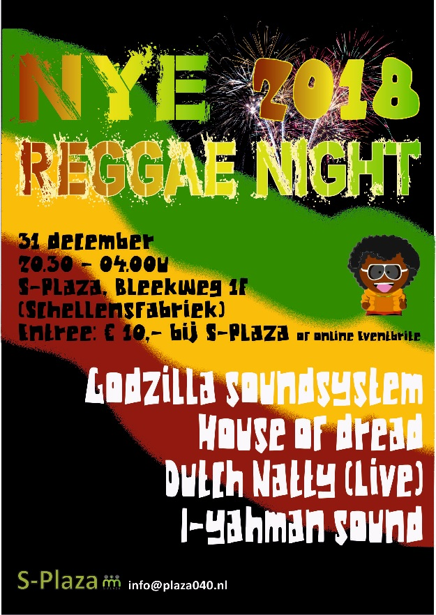 181231 NYE Reggae Night
