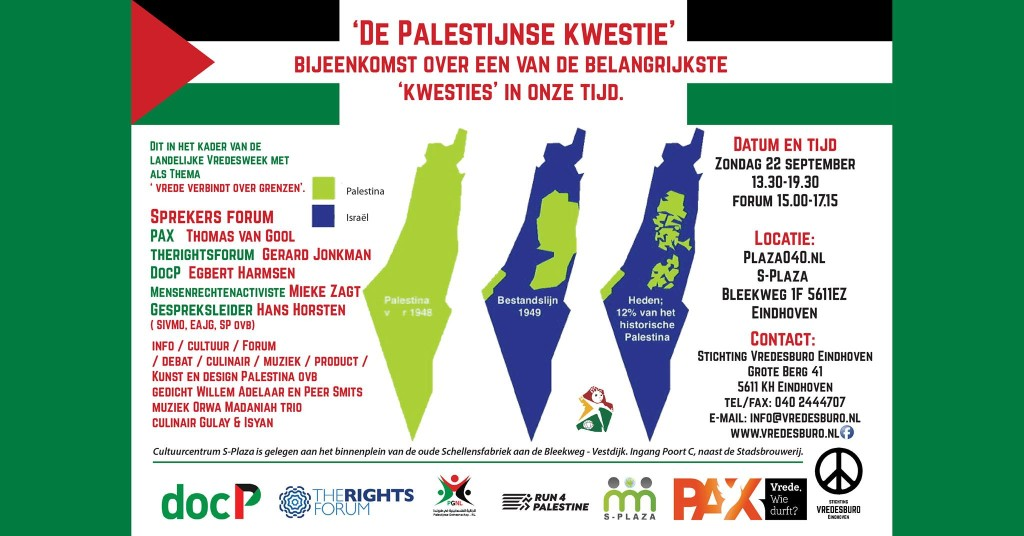 190922 Kwestie Palestina